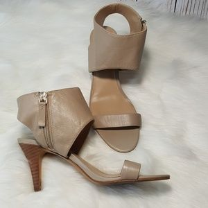 SOLE SOCIETY nude heels size 6.5
